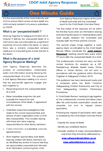 CDOP Joint Agency Response download