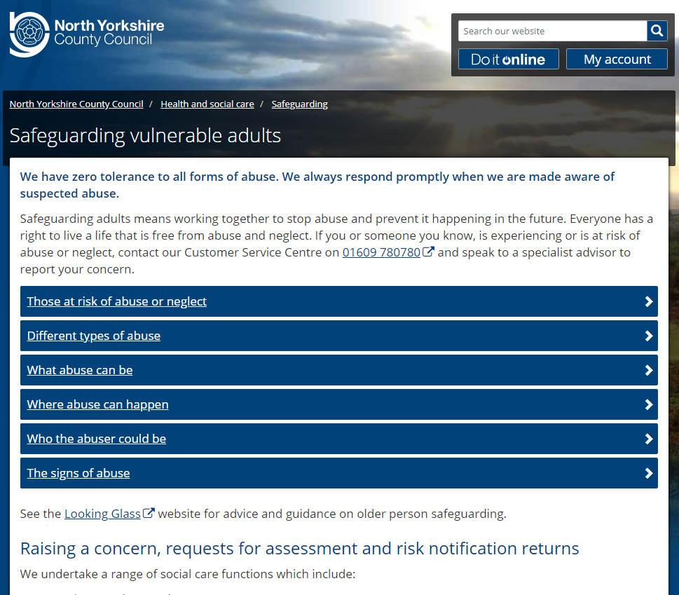 Make a Referral via the Adult Social Care Website
