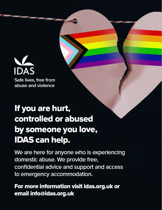 IDAS LGBT postcard