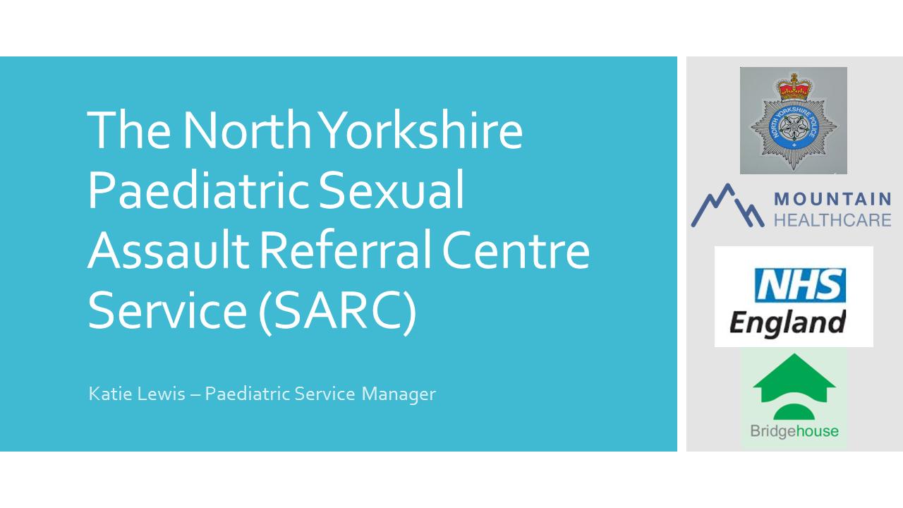 Watch the North Yorkshire SARC Presentation