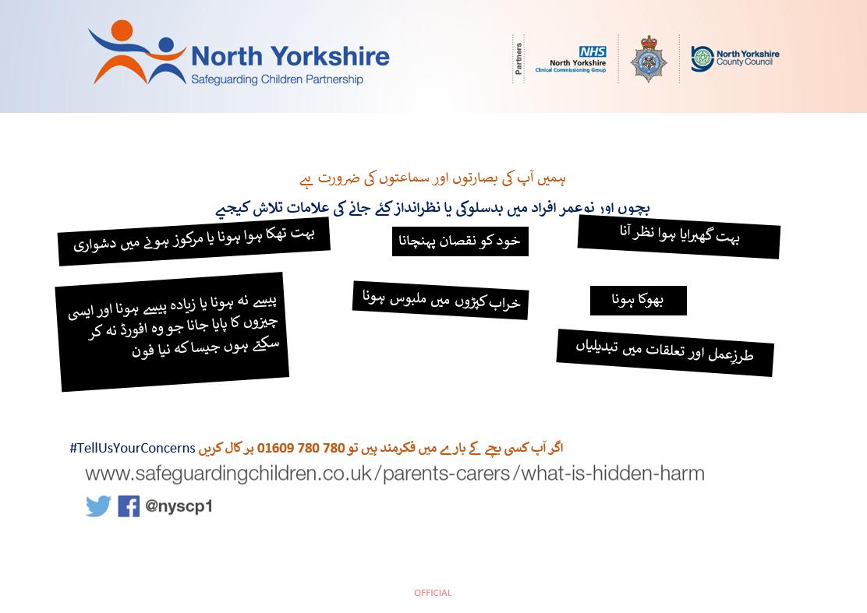 Download Hidden Harm Poster in URDU